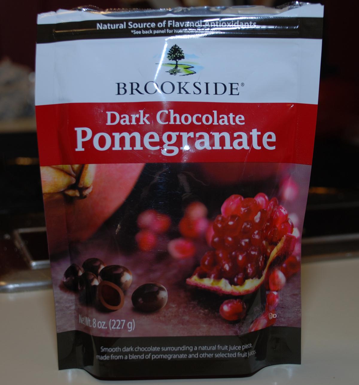 Dark Chocolate Pomegranates   Pork Chop Tuesday