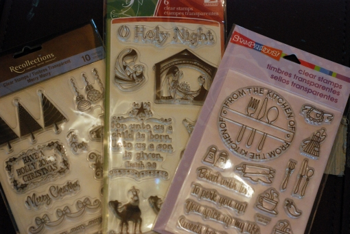 how to use rubber stamps on cookies