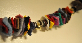 felted garland 3