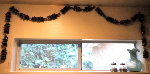 felted garland