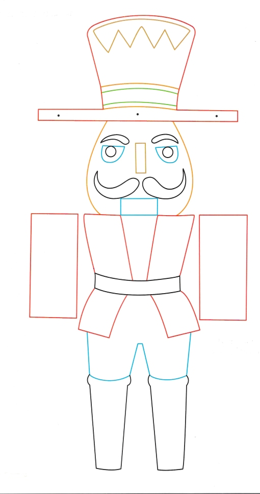 Nutcracker template