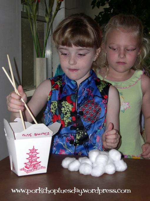 chopstick game via Pork Chop Tuesday