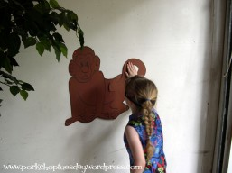 Pin the tail on the monkey via Pork Chop Tuesday