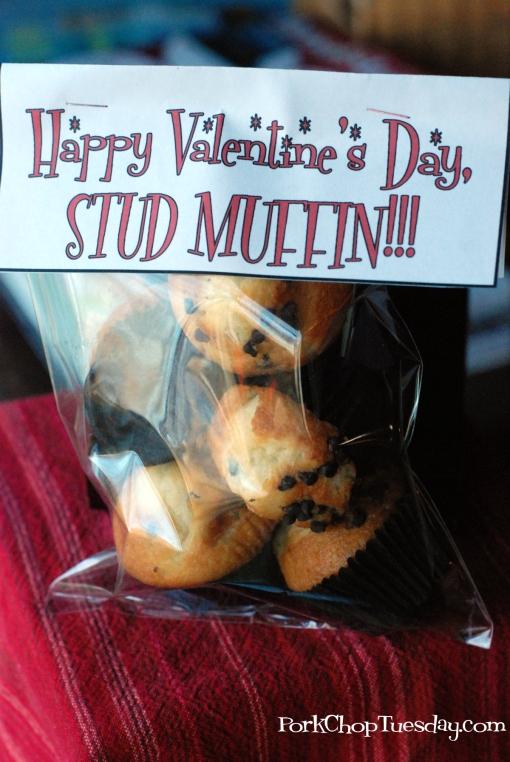 Stud Muffin Valentine