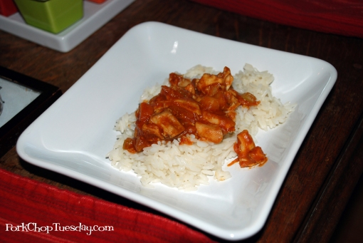 Chicken Curry from Pork Chop Tuesday