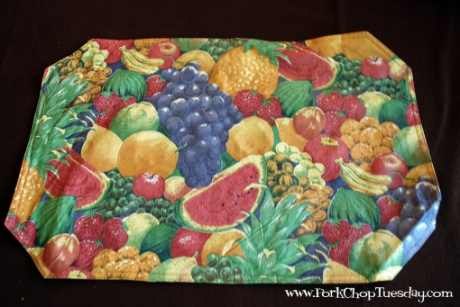 Fruit Placemat