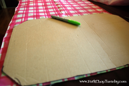 Placemat template