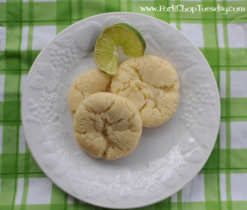Coconut Lime Cookies | Pork Chop Tuesday