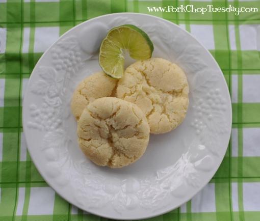 Coconut Lime Cookies | Pork Chop Tuesday