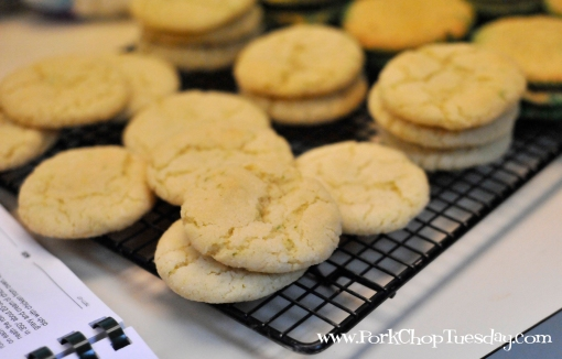 Cookies with white sugar | Pork Chop Tuesday