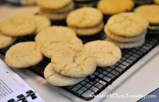 Cookies with white sugar | Pork Chop Tuesday