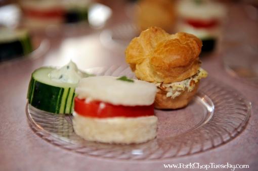 Savory Tea Plate 1