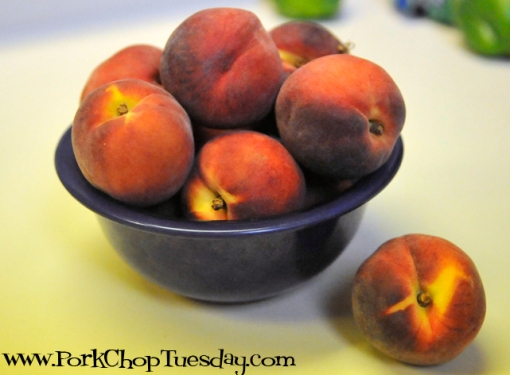 bowll of peaches