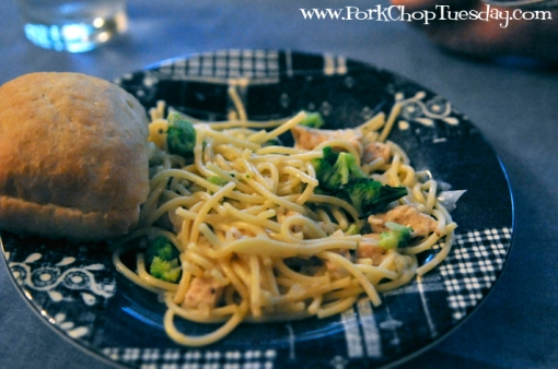 Lemon Spaghetti with Broccoli