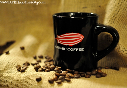 Airship Coffee cup