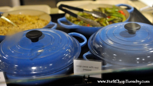 blue cookware