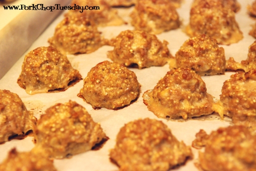 Quinoa Meatballs-cooked