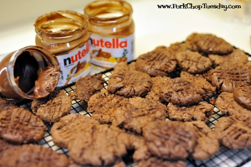 cookies with Nutella