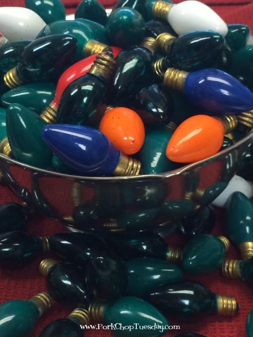 Vintage Christmas bulbs