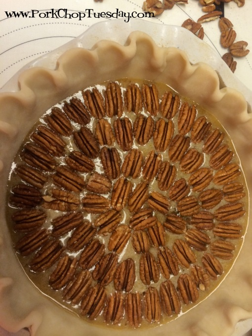fancy pecan pie