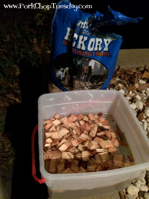 Hickory chips