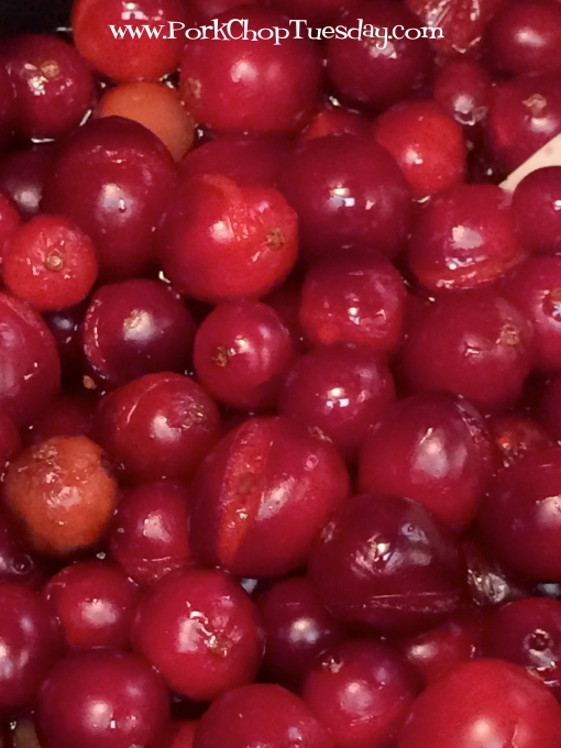 popped cranberries