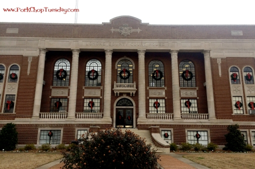 historic Lonoke County Courthouse