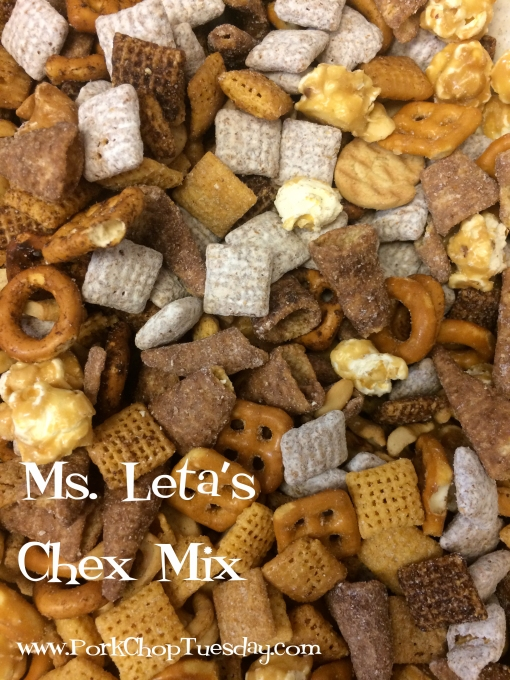 Ms. Leta' Chex Mix