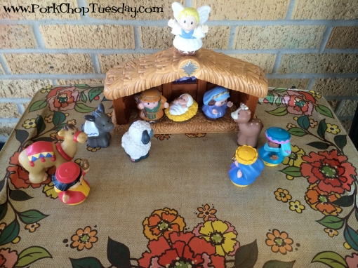 Playskool nativity