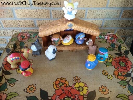 Playskool nativity
