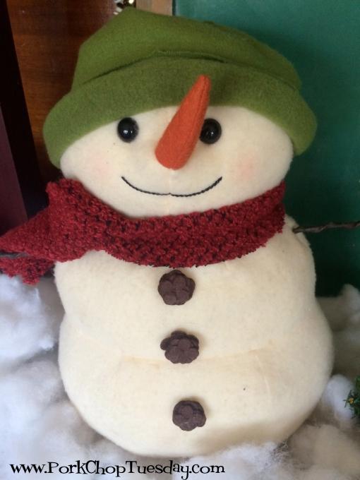 stuffed snowman