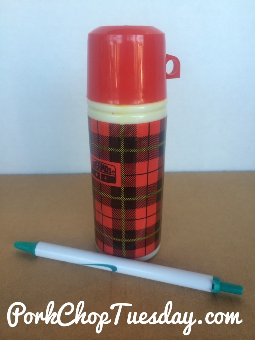 Size of thermos