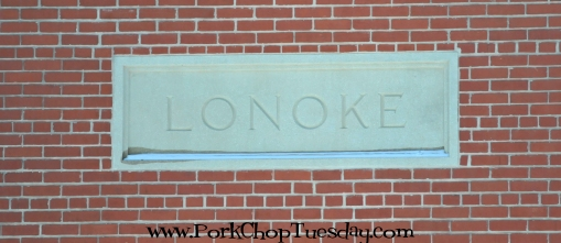 Lonoke train depot