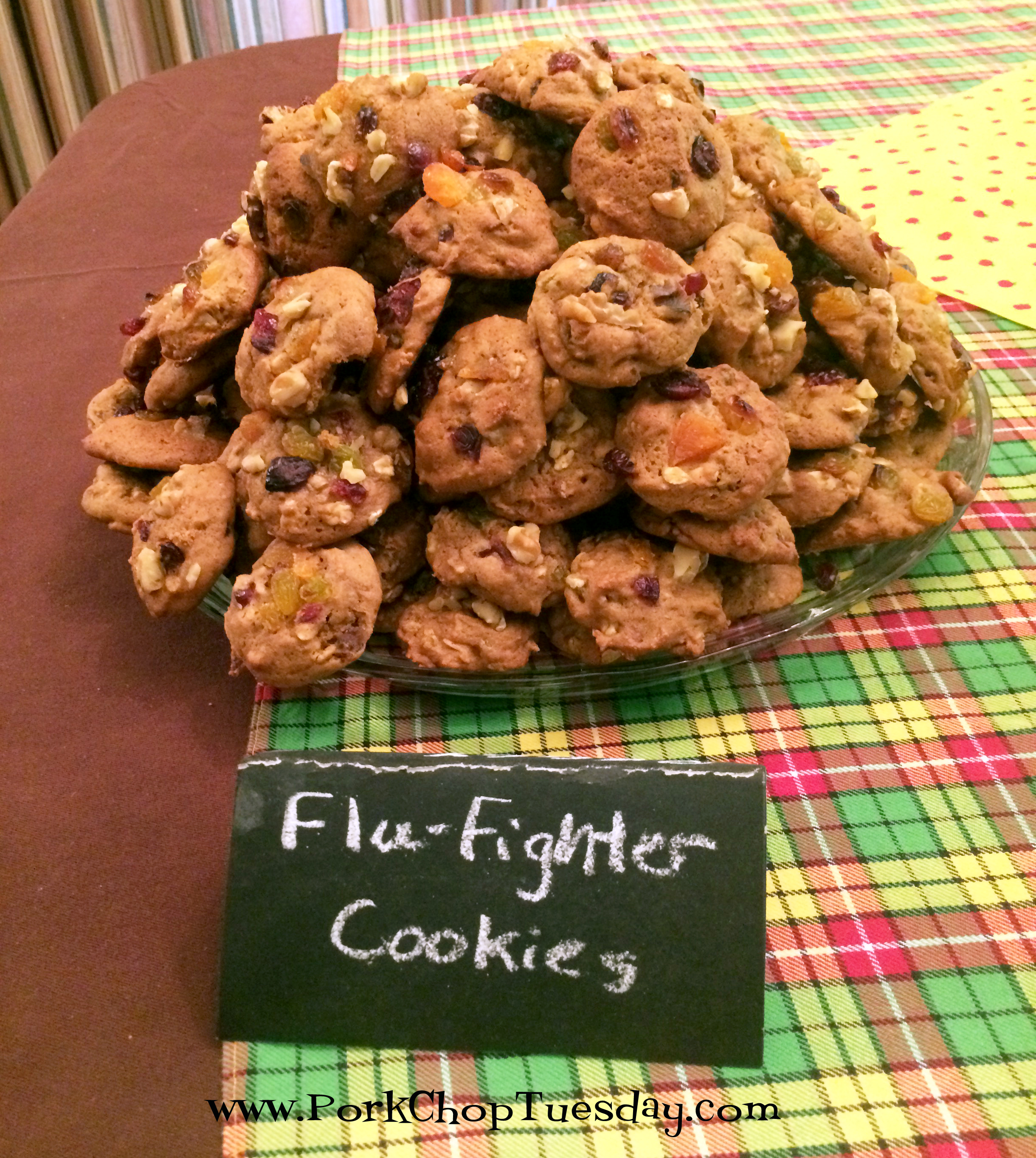 flu fighter cookies