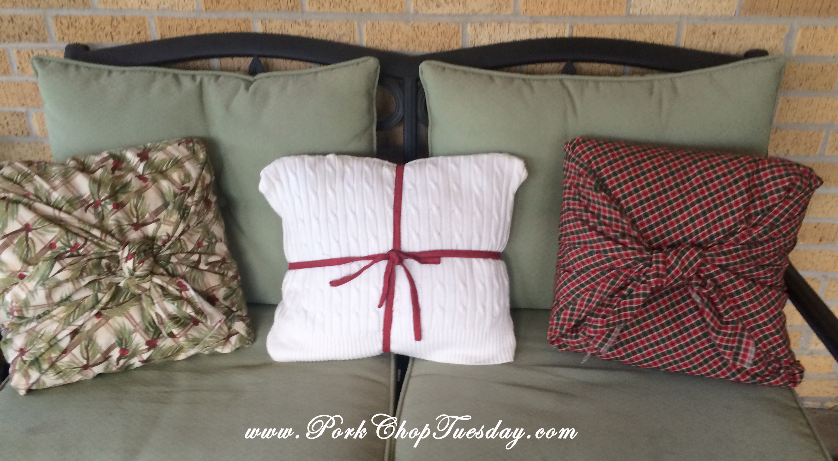Christmas Pillows 2