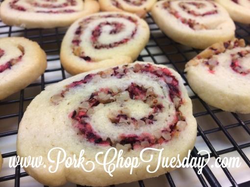 swirled cookie