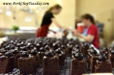 chocolate petit fours