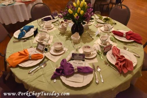 colorful napkins