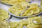plates of lemons