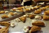 trays of scones