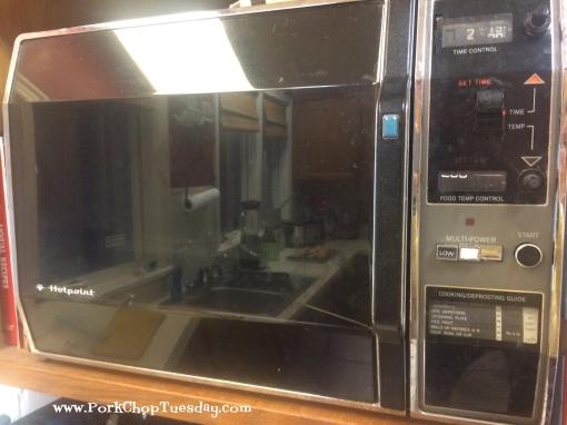 vintage microwave