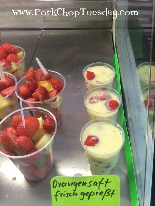 custard-with-strawberries