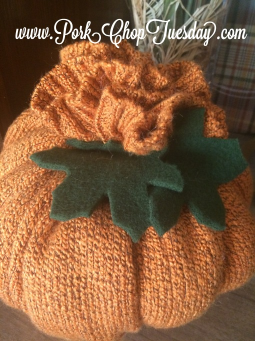 sweater pumpkin