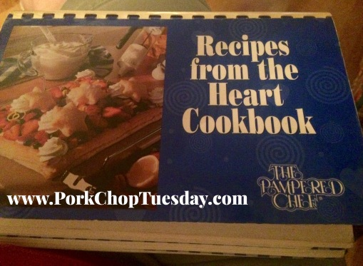 Pampered Chef cookbook