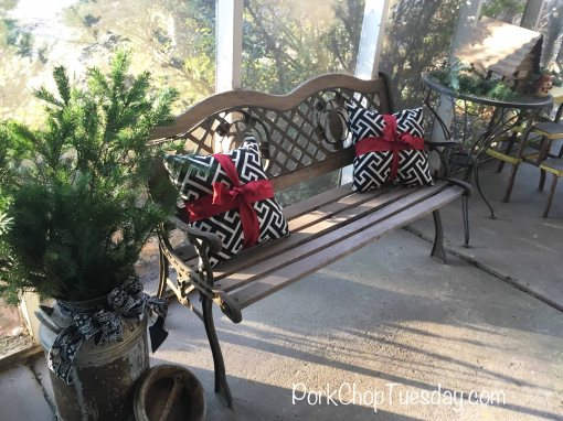 porch pillows
